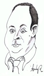 Samuel Hooper - Daily Politics - BBC - Caricature - Sketch - Cartoon - 2