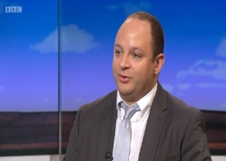 Samuel Hooper - Daily Politics - BBC - Semi Partisan Politics - 2