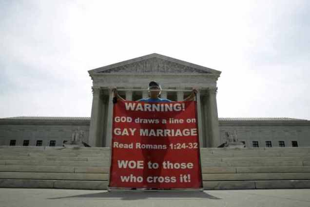 Supreme Court - Gay Marriage - 2