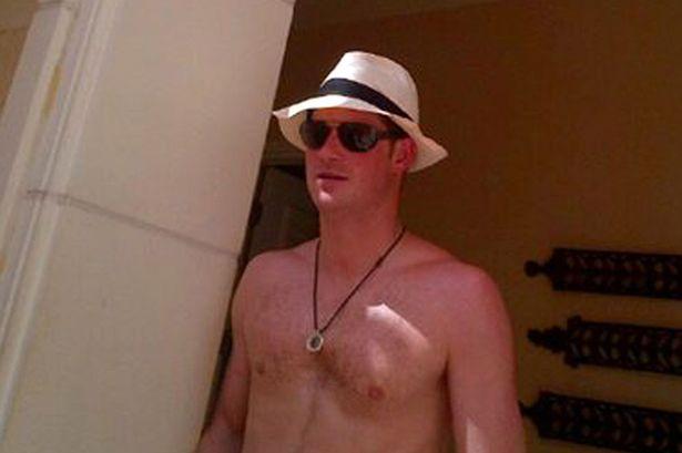 Prince Harry Naked Las Vegas