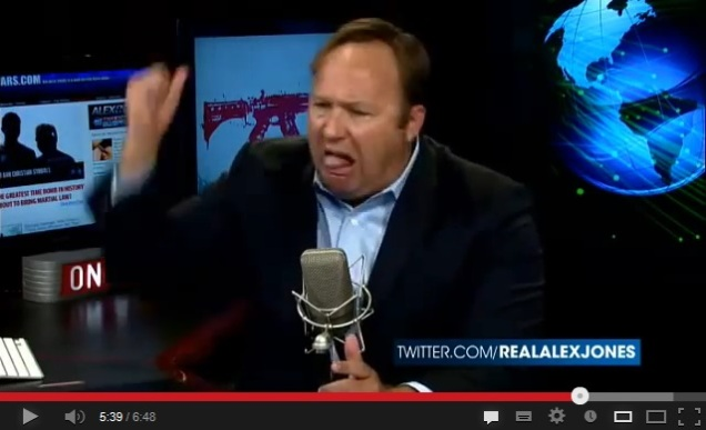 Alex Jones re-enacts the fall of Rome