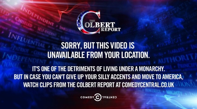 Even Colbert is in on the heinous conspiracy
