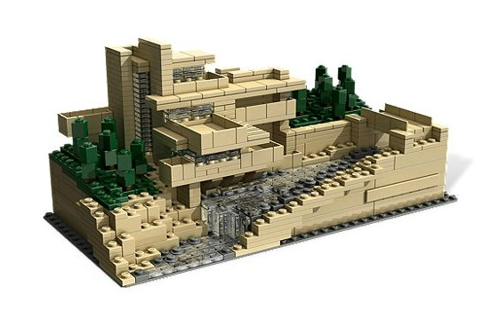 I would love to live there, but would settle for the Lego model