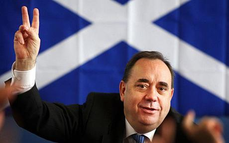 The referendum has not yet taken place, but already Alex Salmond seeks to dictate terms to the United Kingdom.