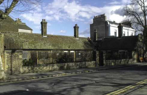Picture: Ian Aitken: Bishops Wood Almhouses on Lower Clapton Road