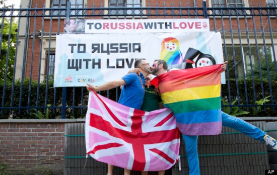 Belgium Russia Gay Rights