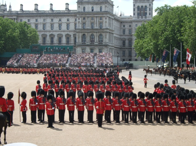 troopingthecolour