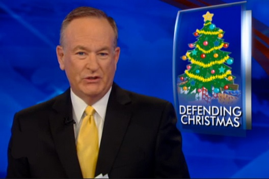 No longer the exclusive preserve of Bill O'Reilly and the Fox News Channel.