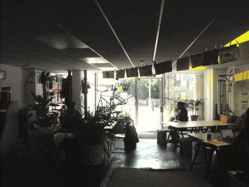 Picture: Ian Aitken - The studio where Generation Hackney is based