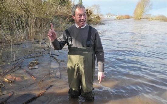 Attempts to sink Nigel Farage tend to fail