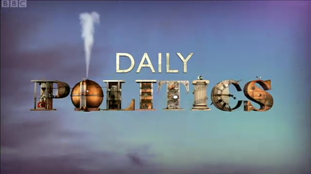 BBC Daily Politics Political Journalism SPS