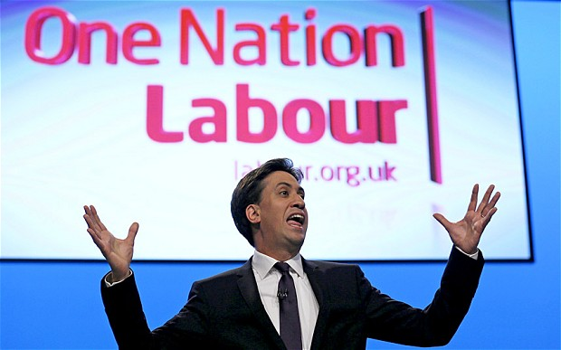 Ed Miliband Labour One Nation