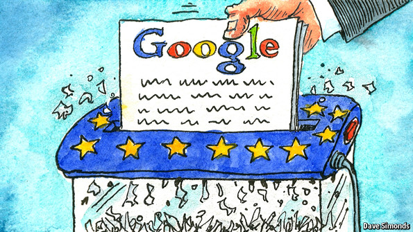 Google ECJ data ruling