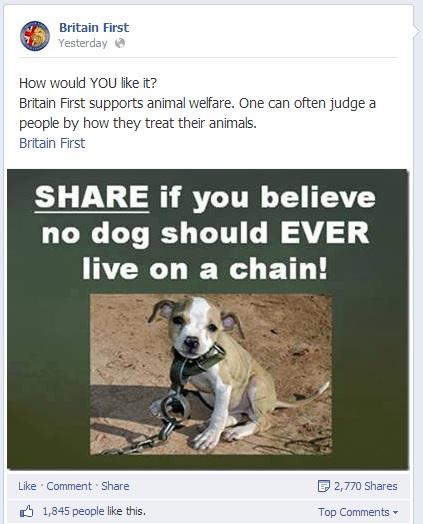Britain First Animal Welfare