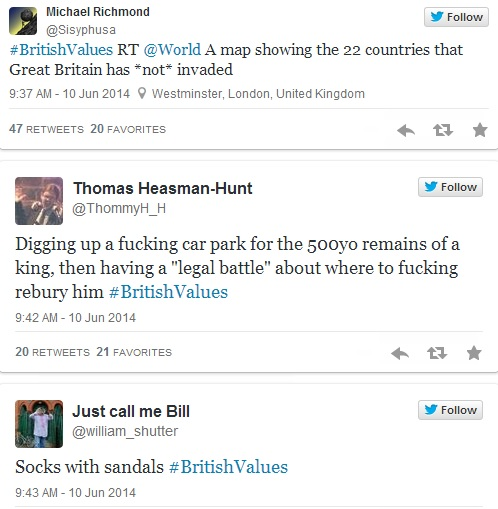 British Values Twitter 4