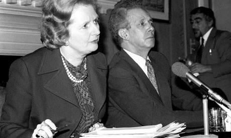 Keith Joseph Margaret Thatcher