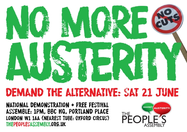 Peoples Assembly No More Austerity