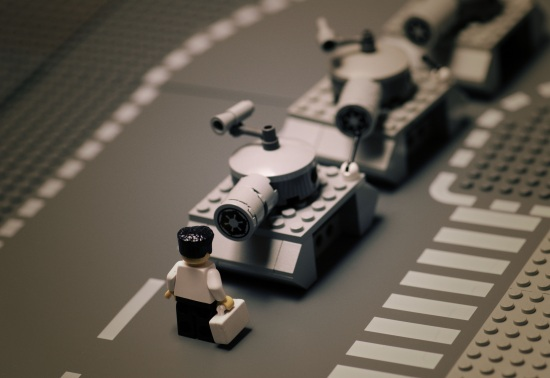 Tiananmen Square Protest June 4 Lego