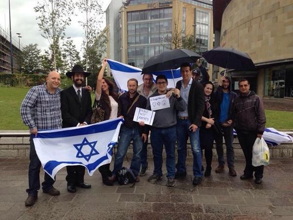 Bradford Israel Protest George Galloway 2