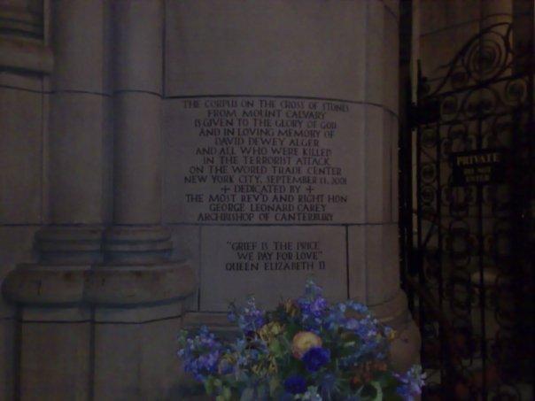 911 Memorial New York Queen Elizabeth II
