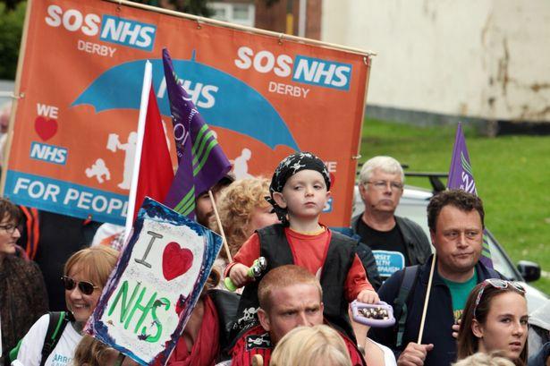 SOS NHS Jarrow March