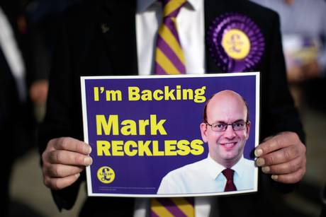 Mark Reckless UKIP Rochester