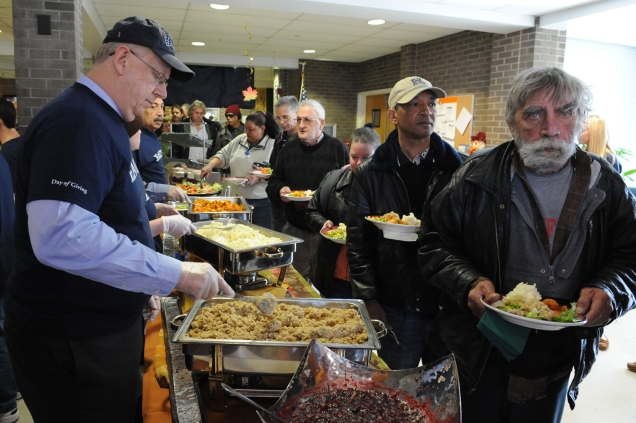 Thanksgiving soup kitchen SPS