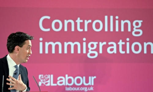 Ed Miliband Immigration Lie