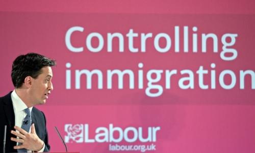 Ed Miliband Immigration Lie