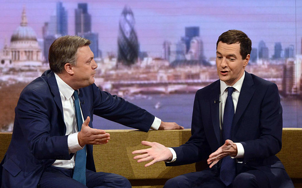 George Osborne Ed Balls Austerity Big Government debate