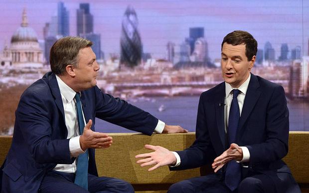 George Osborne Ed Balls Austerity Big Government debate