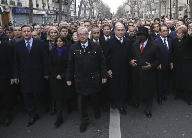 David Cameron Paris Attack Charlie Hebdo 3