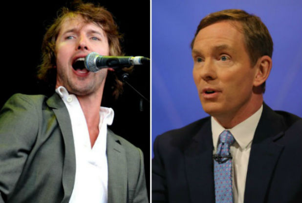 James Blunt Chris Bryant MP