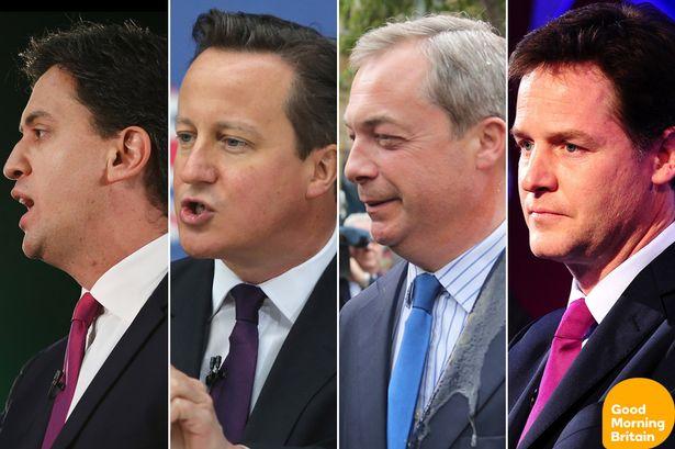 2015 general election britain leaders debate