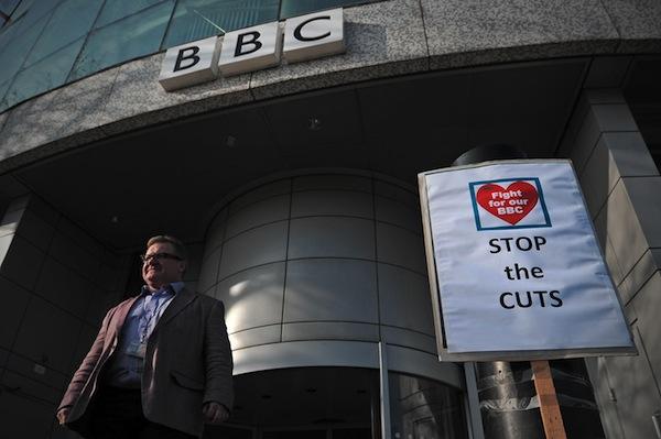 BRITAIN-BBC-MEDIA-STRIKE