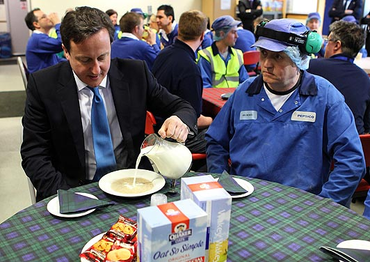 David Cameron Breakfast Cereal Terms Are Like Shredded Wheat 2