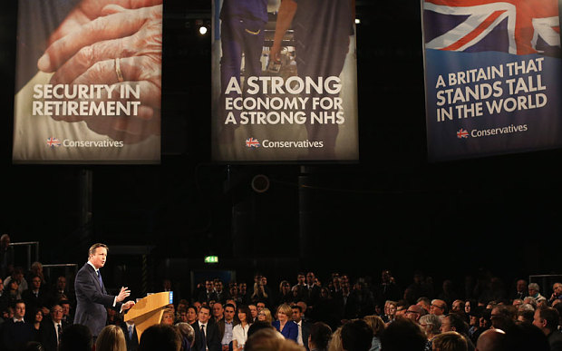 David Cameron Conservative Party Spring Conference 2015 - A Strong Economy For A Strong NHS