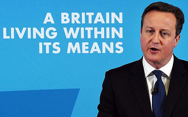 David Cameron Leaders Debate General Election 2015