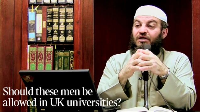 Islamist Extremism University Campus Britain 1