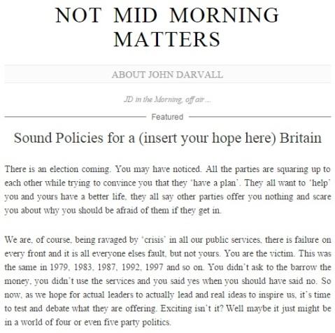 John Darvall BBC bias General Election 2015 WordPress Blog 2