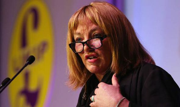Kellie Maloney UKIP spring conference 2015