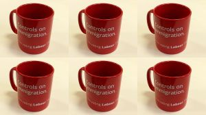 Labour 2015 General Election Mug Control Immigration - Immigration Policy