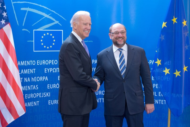 Martin Schulz Joe Biden European Union Common Foreign Policy EU Army