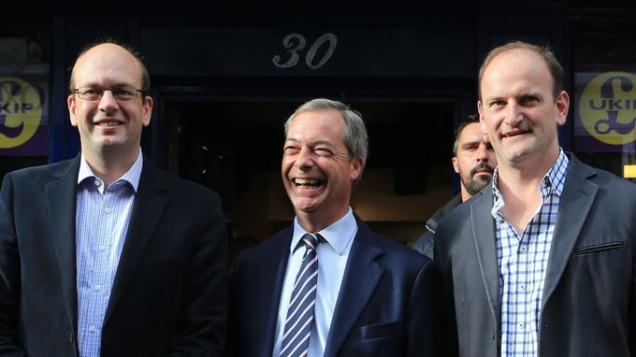 Nigel Farage Mark Reckless Douglas Carswell UKIP Defectors Phone Hacking