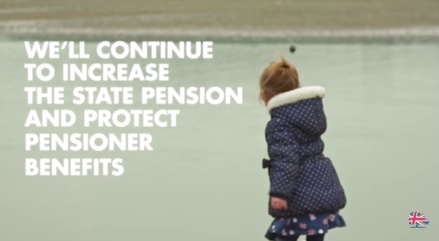 Tories Conservative General Election 2015 Campaign Pensioner Benefits
