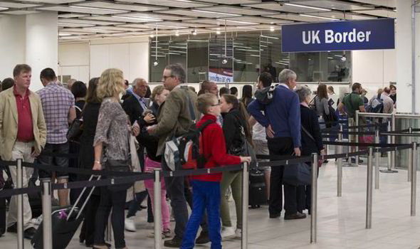 UKIP Immigration Target UK Border Control