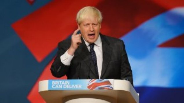 Boris Johnson - Conservative Party - Tory Leadership - General Election 2015