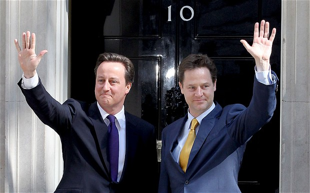 David Cameron - Nick Clegg - Passion - General Election 2015