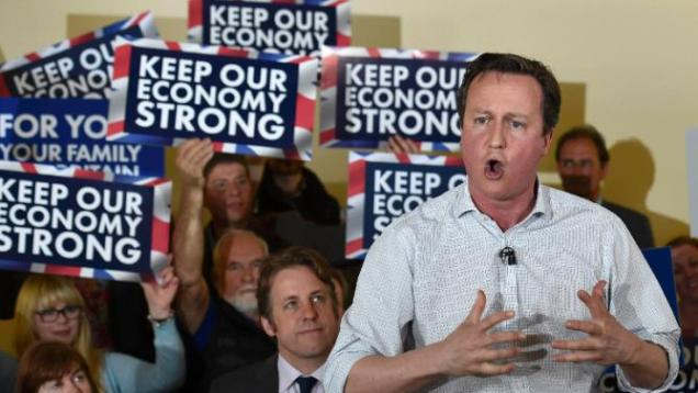 David Cameron - Passion - Bloody Lively - General Election 2015 - Conservatives