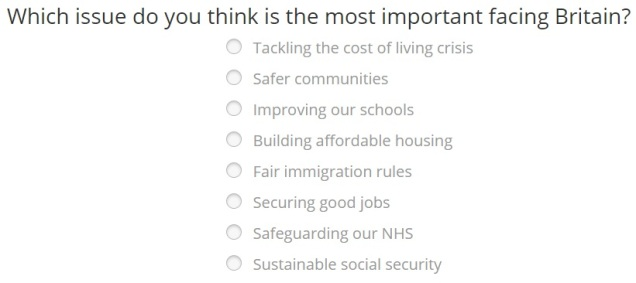 Labour Fundraising - Choice 3
